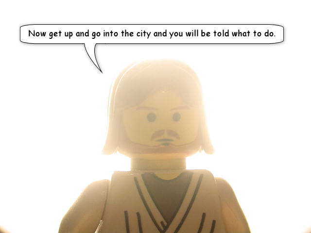 The Brick Testament Jesus